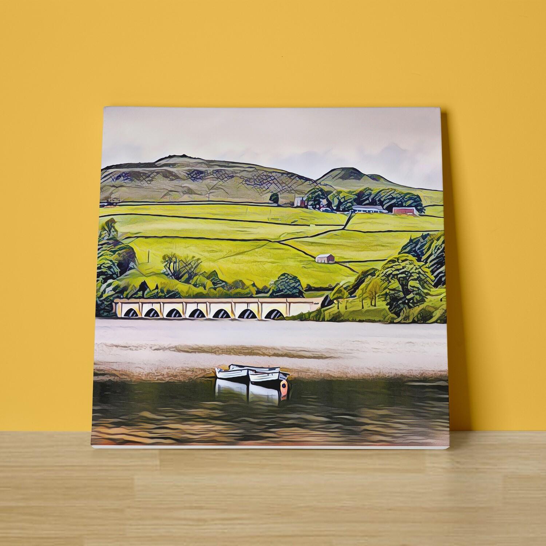 Ladybower Canvas Print