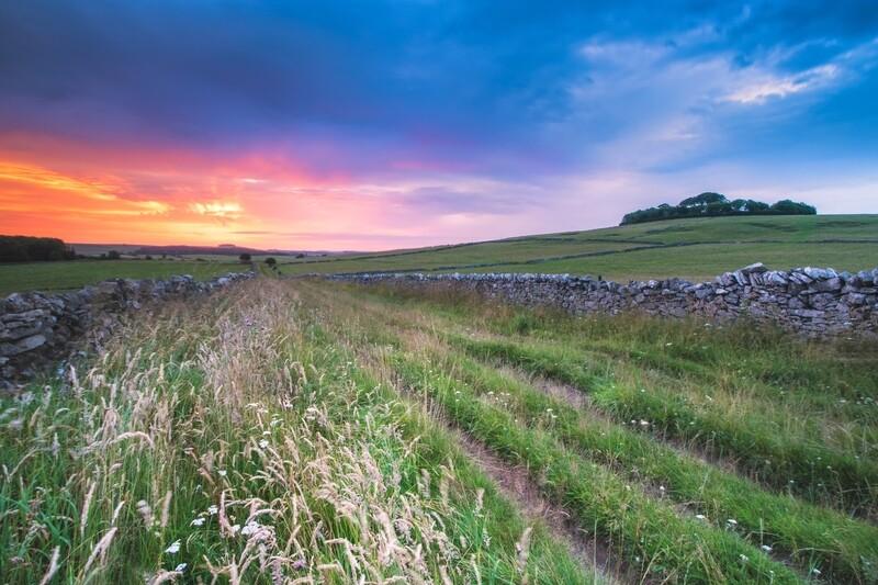 Minninglow Sunset
