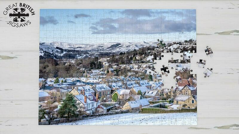 Snowy Peak District Jigsaw