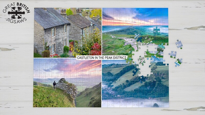 Castleton in the Peak District 1000 Piece Jigsaw