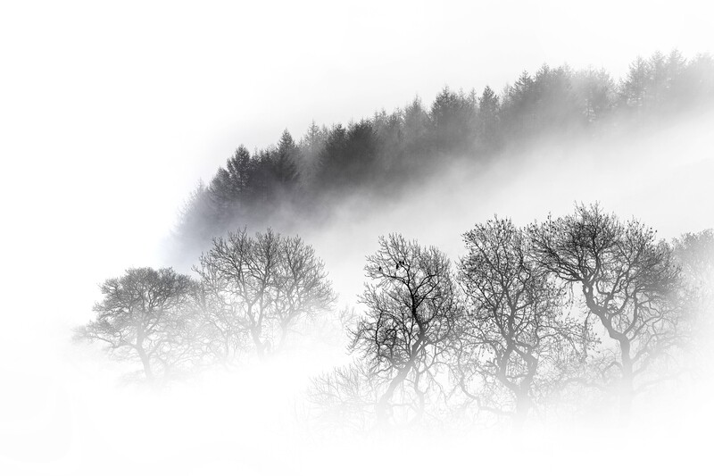 Mysterious Peak District Morning