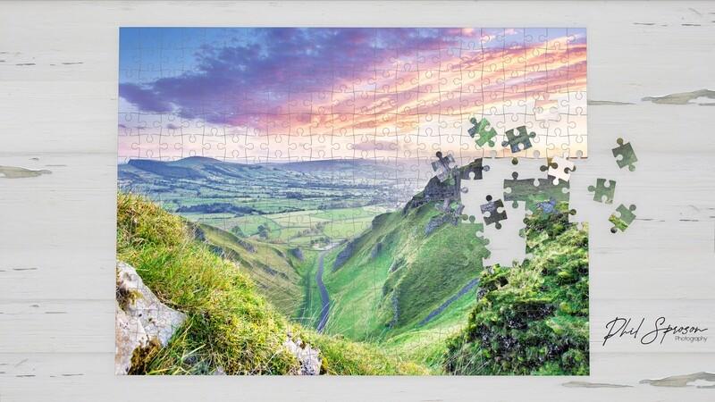 Winnats Pass 1000 Piece Jigsaw