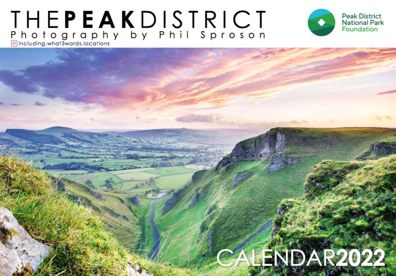 Peak District Charity Calendar 2022