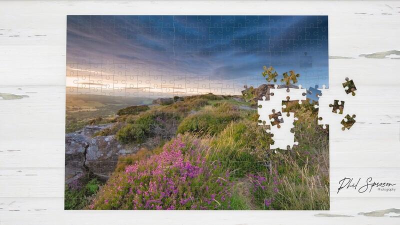 Baslow Edge Sunset 1000 Piece Jigsaw