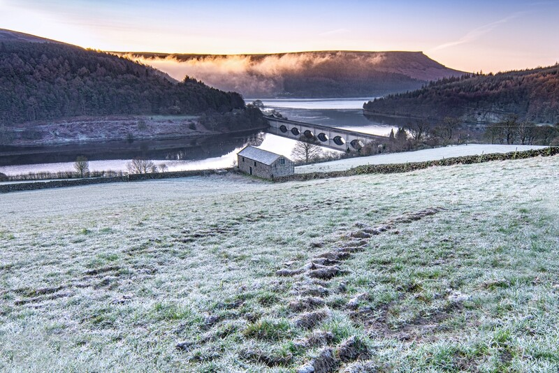 Ladybower Morning from Crook Hill (February from the Calendar)