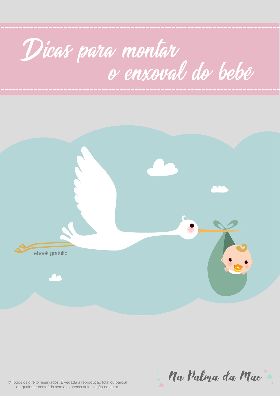 E-BOOK GRÁTIS - Dicas para Montar o Enxoval do Bebê