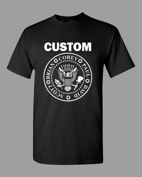 CUSTOM seal t-shirt