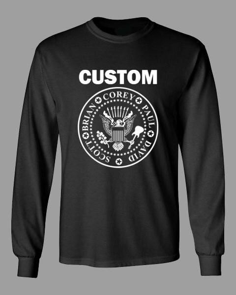 CUSTOM seal long sleeve t shirt