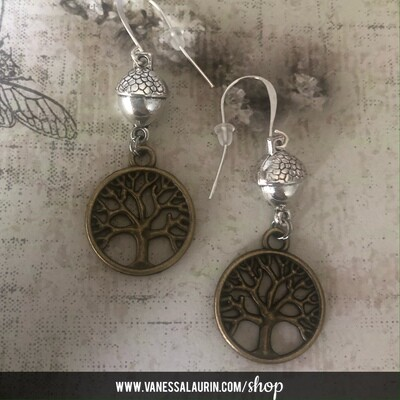 Woodland Whimsy Collection: Mighty Oak earrings