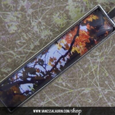 Fall Foliage Collection: Pendant 3 (Antique silver)