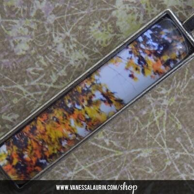 Fall Foliage Collection: Pendant 7 (Brass)