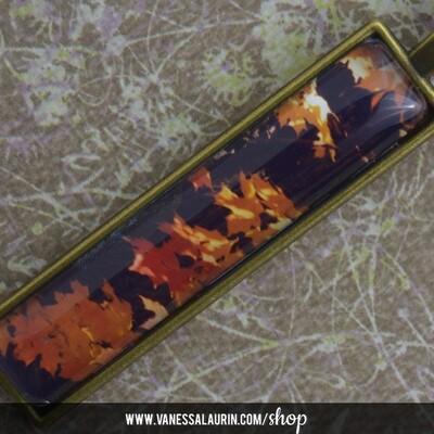 Fall Foliage Collection: Pendant 8 (Brass)