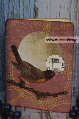 Sunrise Serenade Series: American Robin Notecard