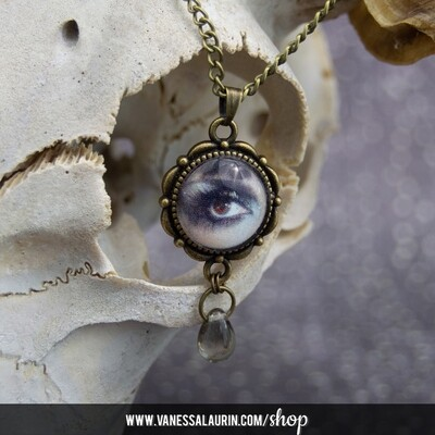 Weeping Eye Pendant (brass)