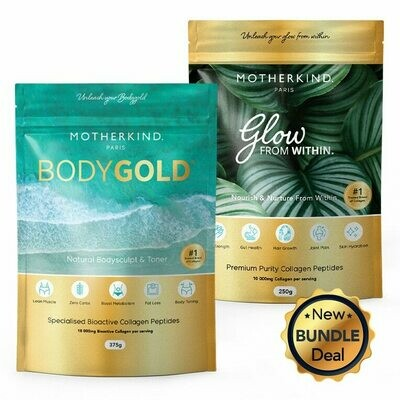 Motherkind Glow and Gold Starter Kit