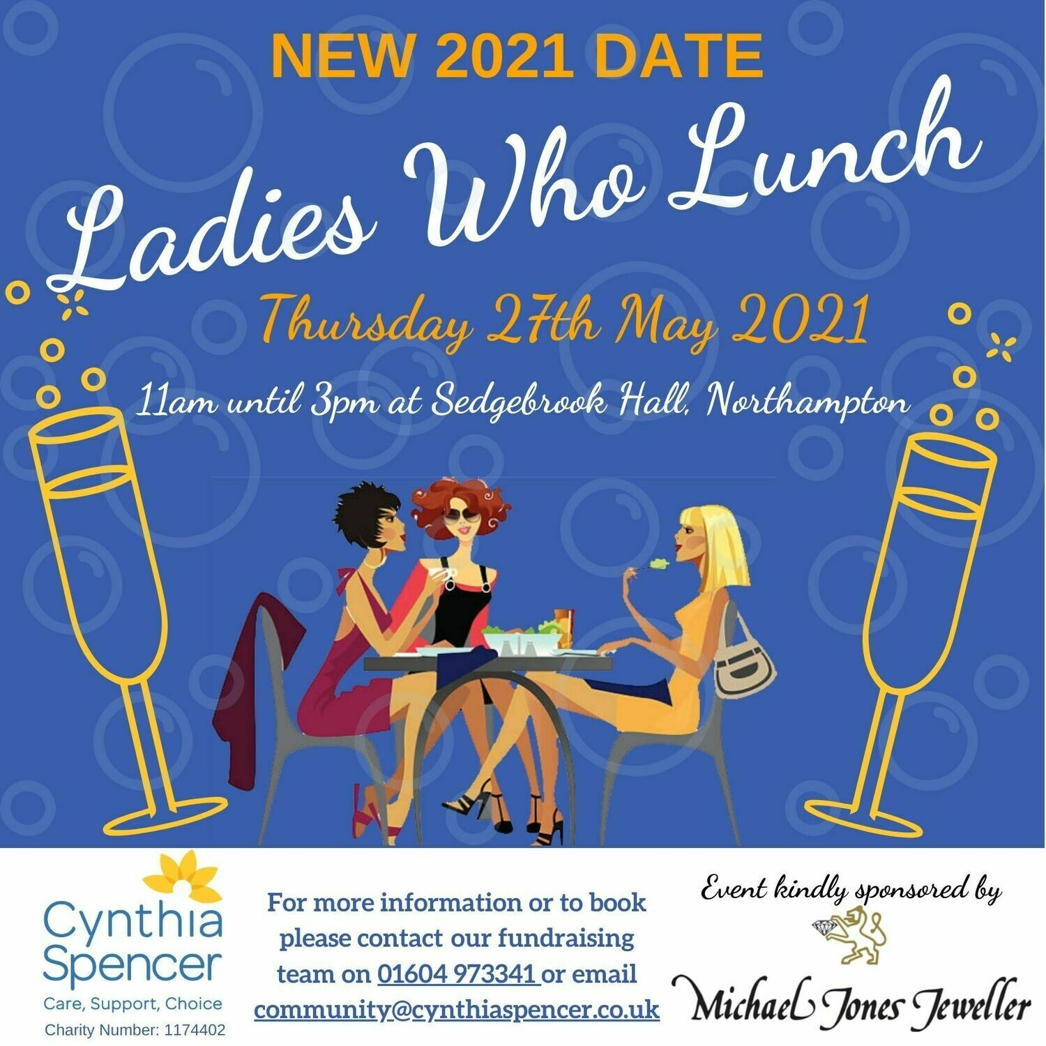 Ladies Who Lunch Event Ticket