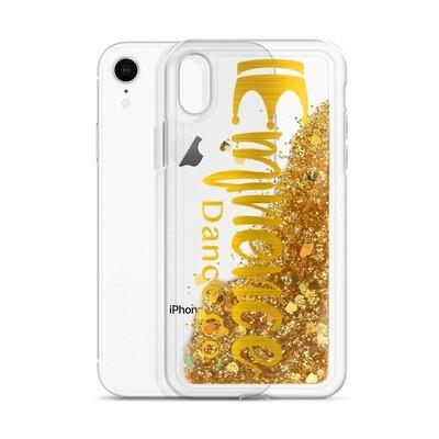 Liquid Glitter Phone Case Gold