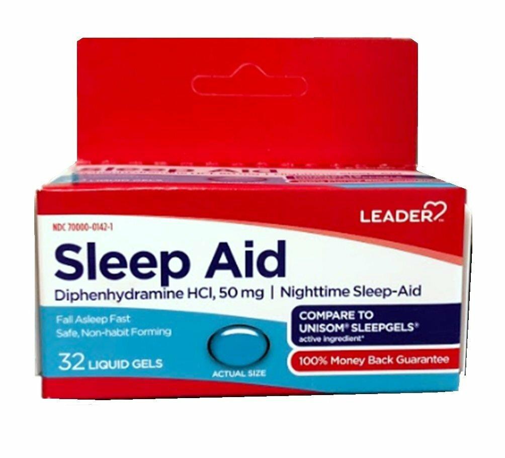 Sleep Aid 50 mg, 32 ct. 00260