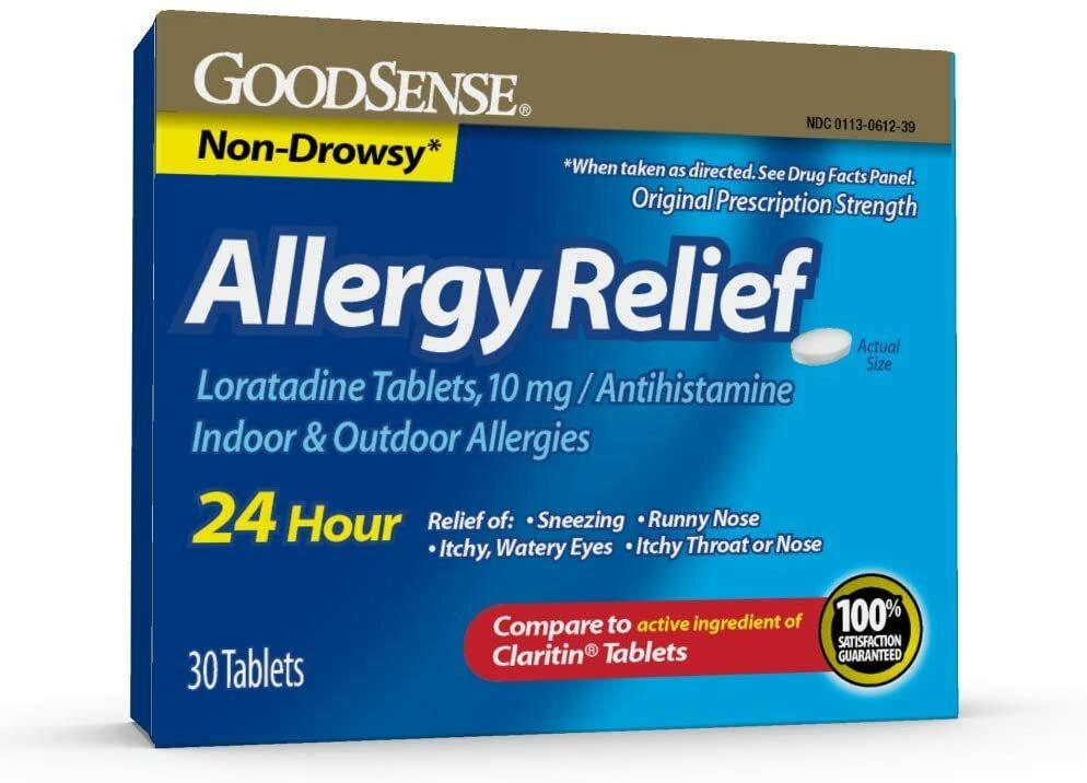 Allergy Relief, 30 ct. 00020