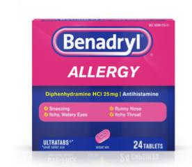 Benadryl Generic Dispensary, 30 ct. 00017