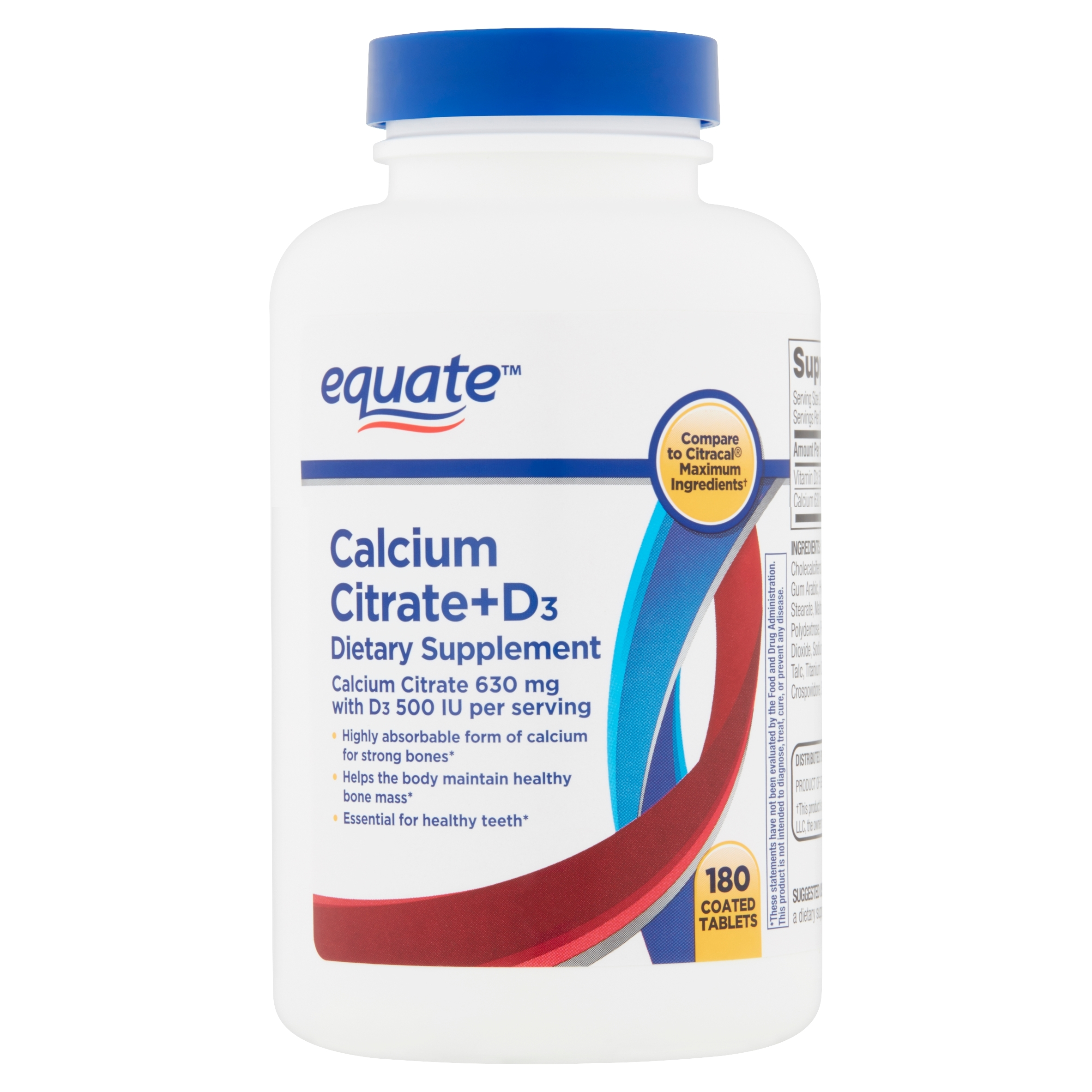 Calcium Citrate and D3 Dispensary, 30 ct 00211