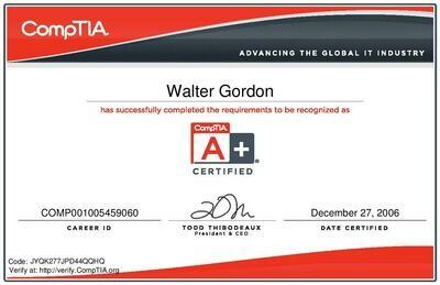 CompTIA Certification