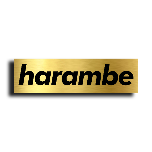 Branded by HARAMBE : A BAD APE Company