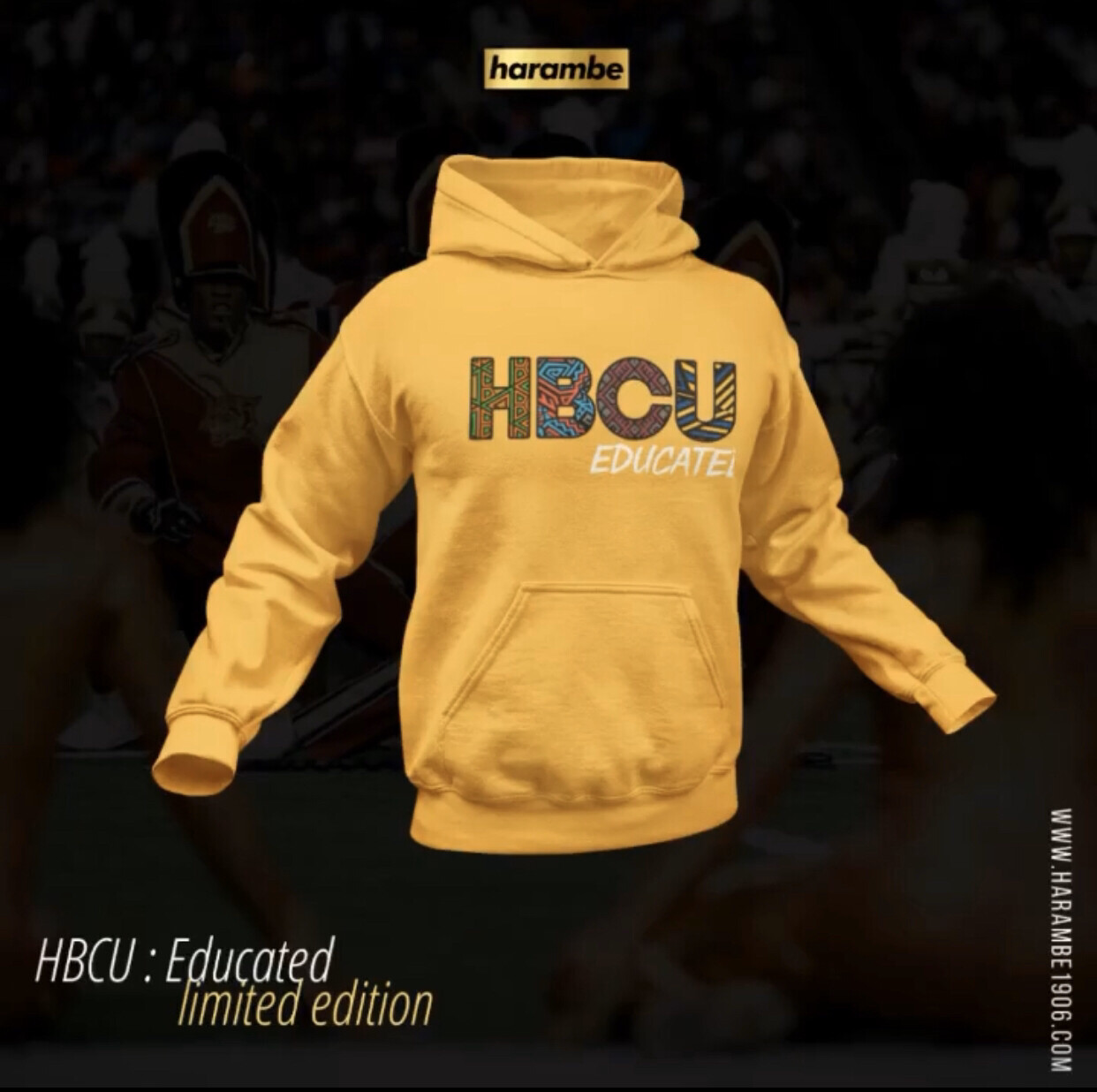 HBCU : Educated - HOODIE (limited edition)