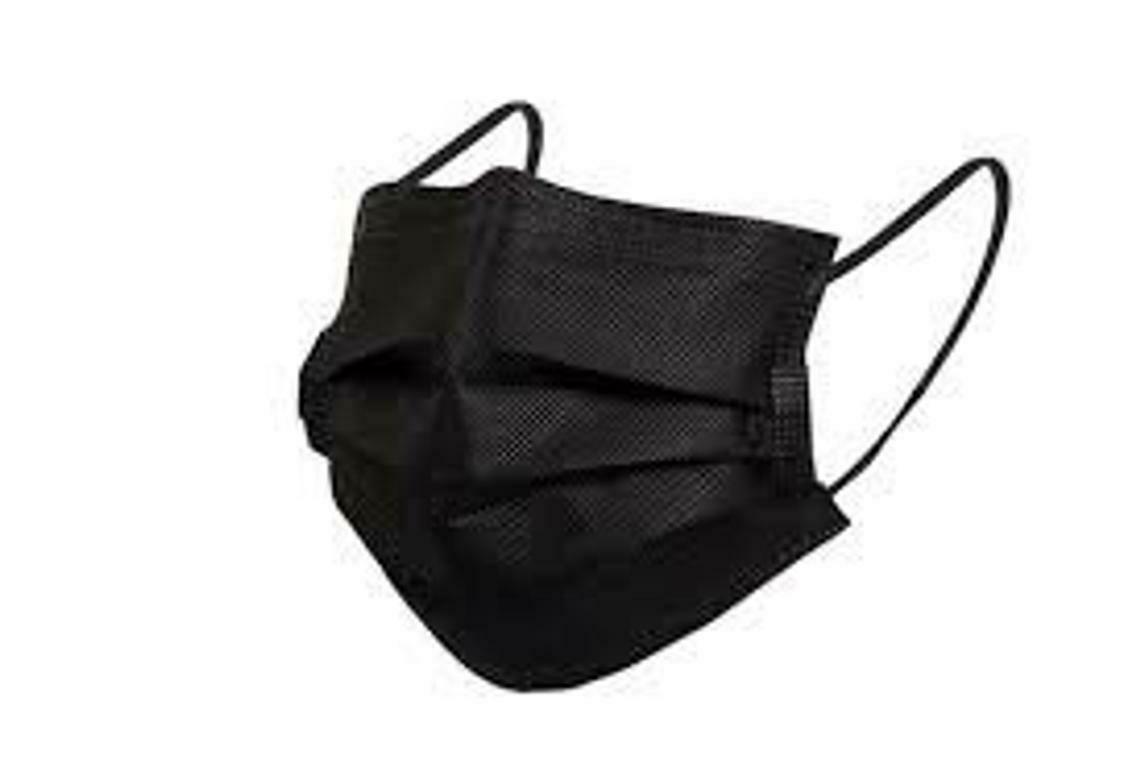 BLK-MASK [Disposable PPE - 5 pk]