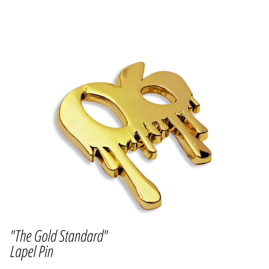 The GOLD Standard - Lapel Pin
