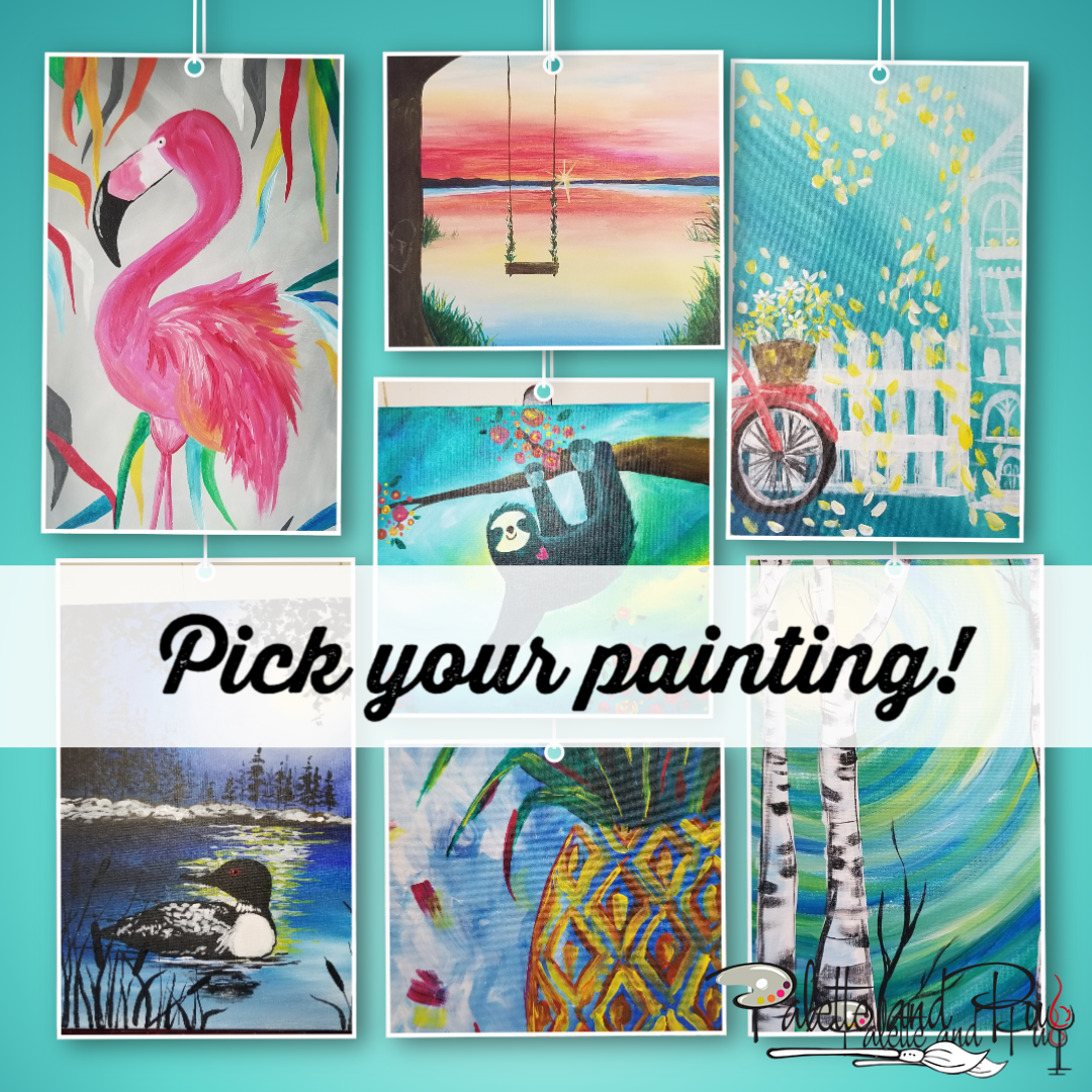 Pick Your Painting