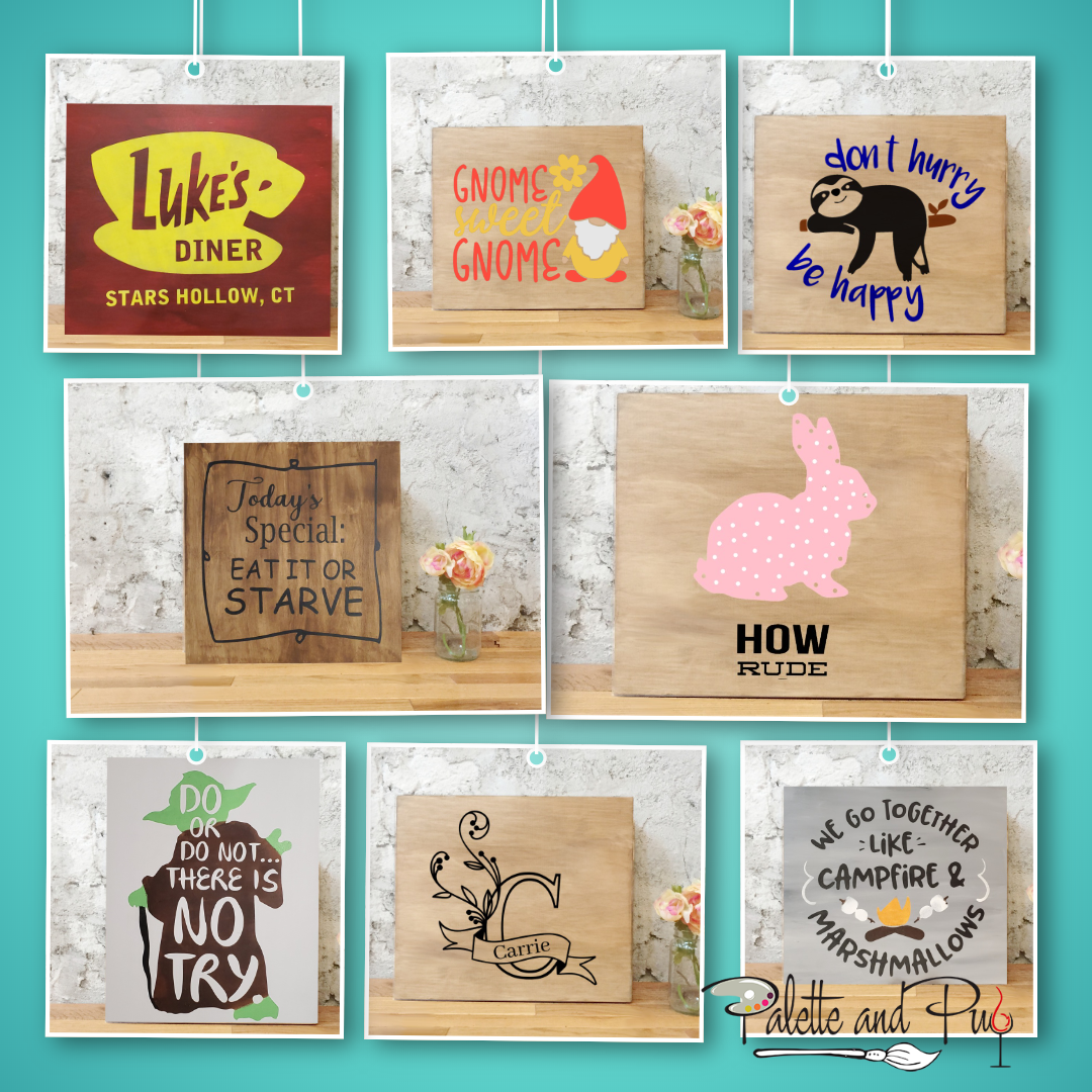 Take Home Stenciling Kit (36 options)