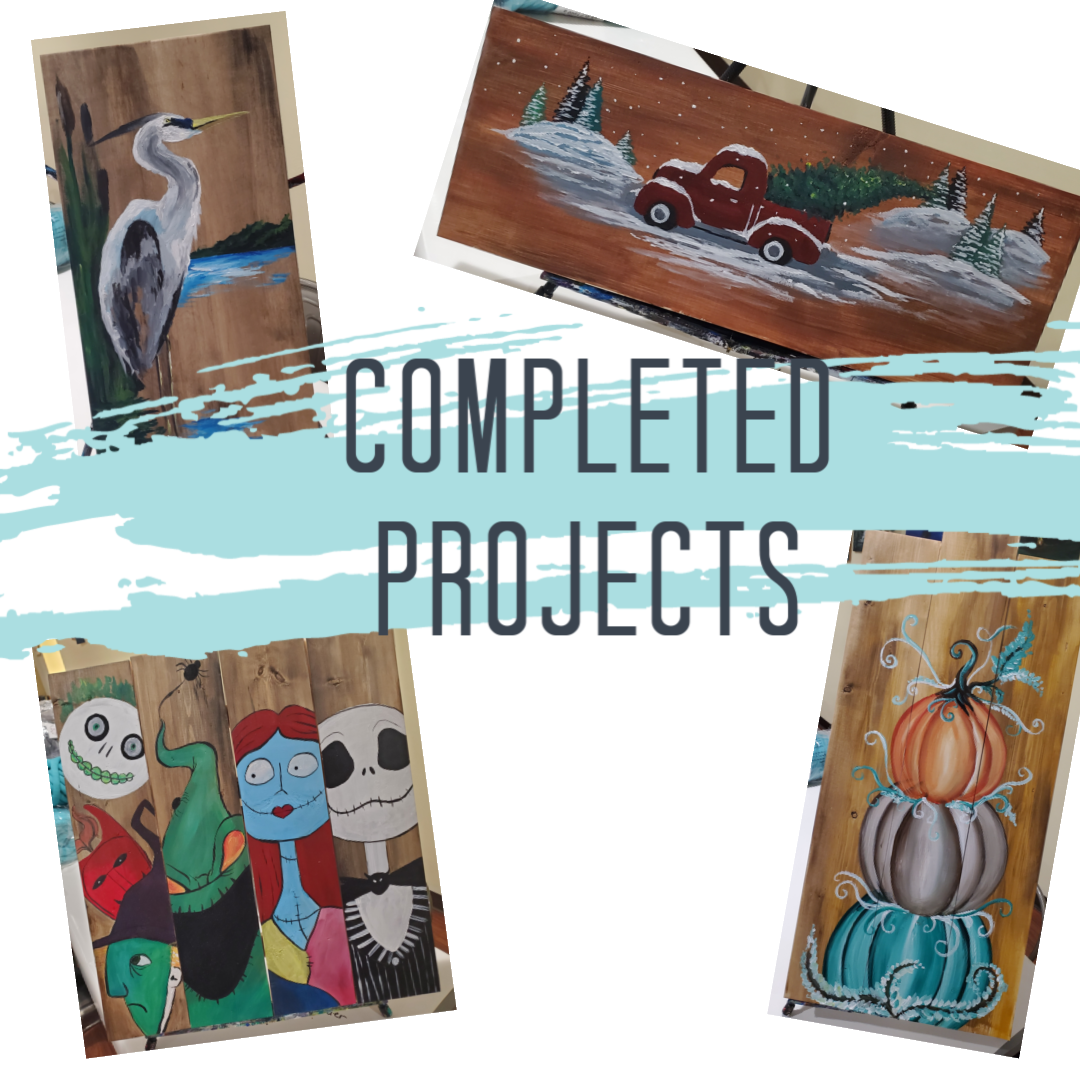 Instructor's Completed Wood Projects Starting at $5