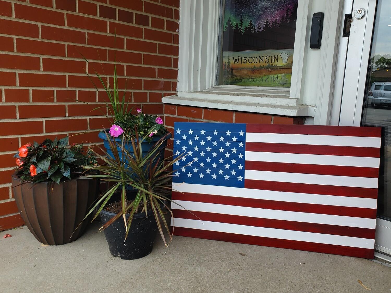 Flag DIY Take Home Kit