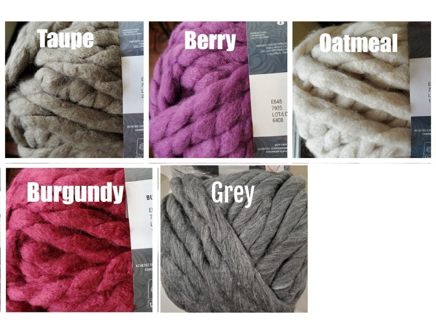 Chunky Yarn Bundle