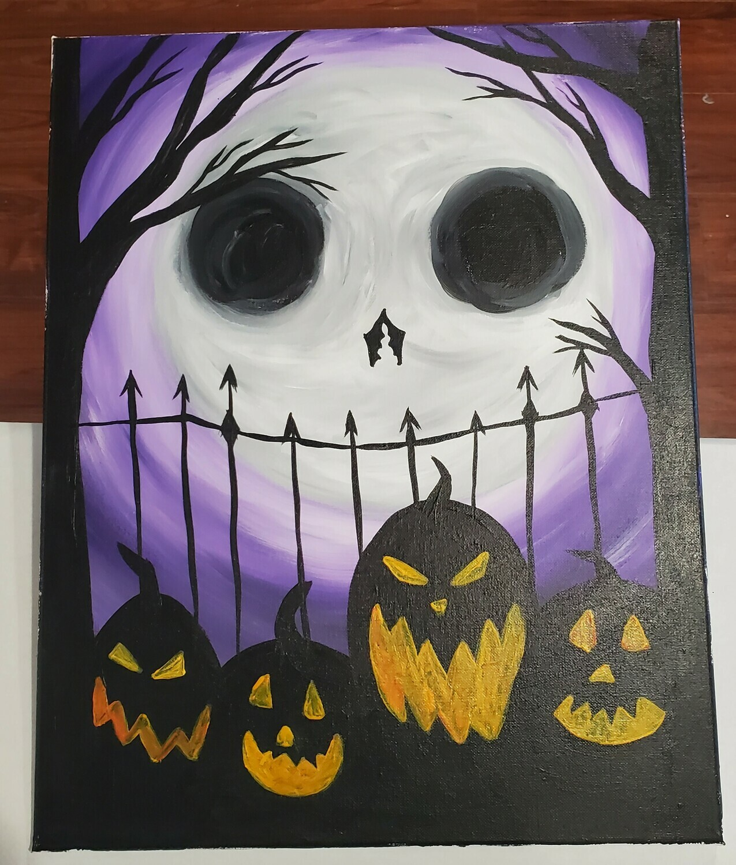 In Studio or Take Home kit -  Halloween Jack