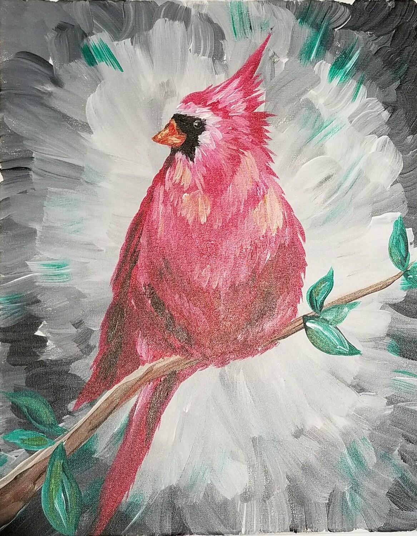 In Studio or Take Home kit - Cardinal