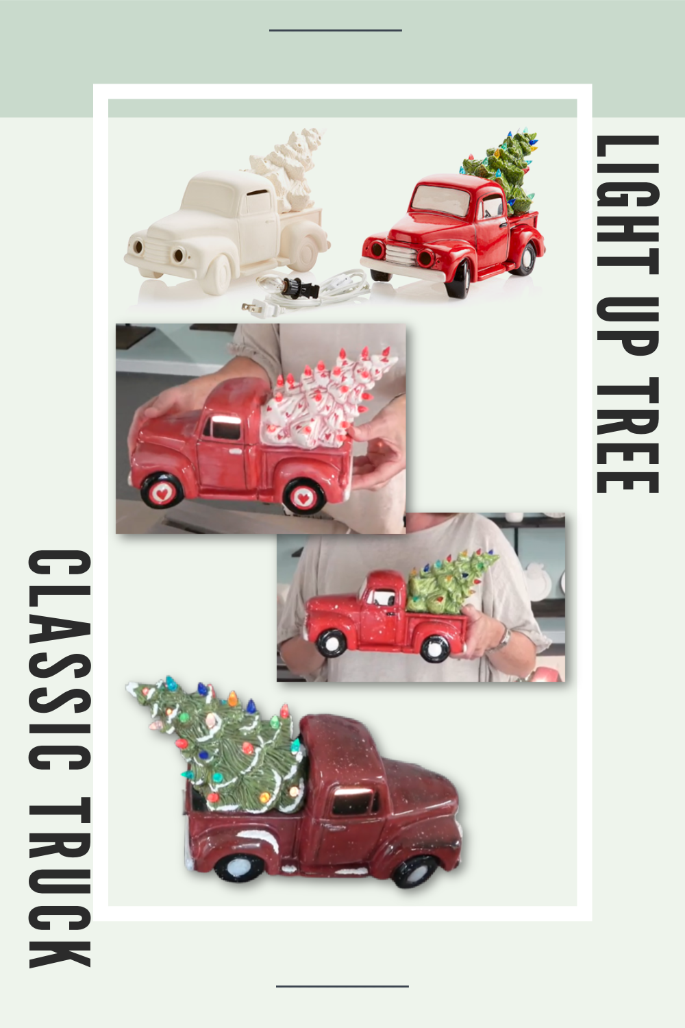 In Studio or Take Home Kit - Truck & Light up tree