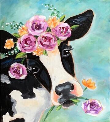 Bovine Beauty Painting