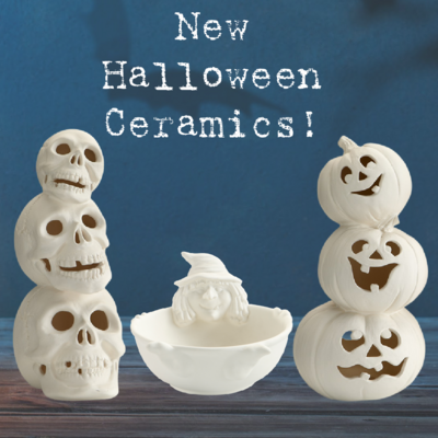 Halloween Ceramics Class
