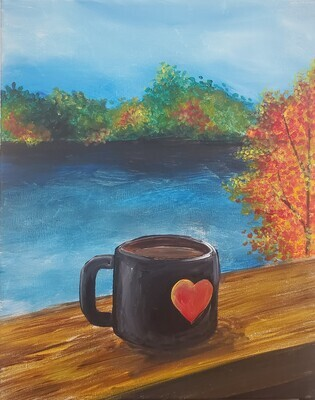 Morning Coffee Painting