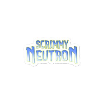 Scrimmy Neutron Sticker