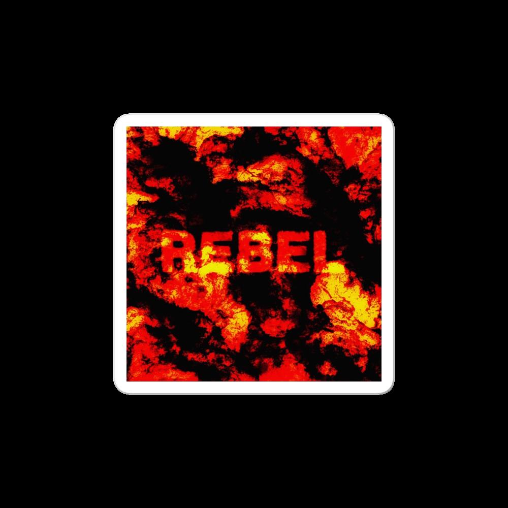 REBEL stickers