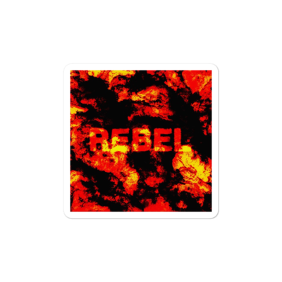 REBEL stickers