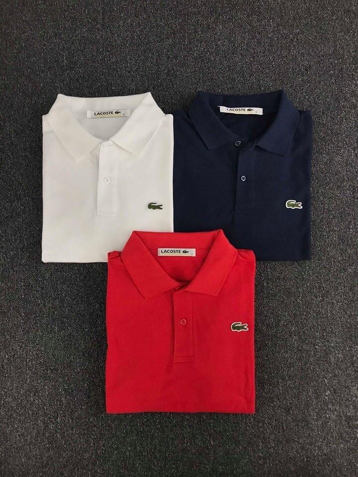 Men's Lacoste Polo Shirt Classic Trio