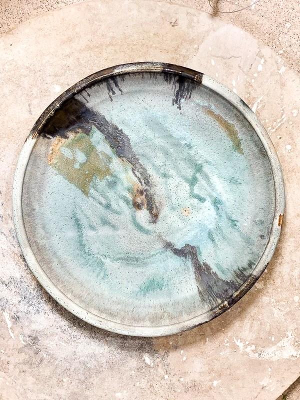 Blue Stone Plate