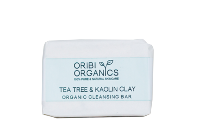 Organic Cleansing Bar - Tea Tree & Kaolin Clay - 150g
