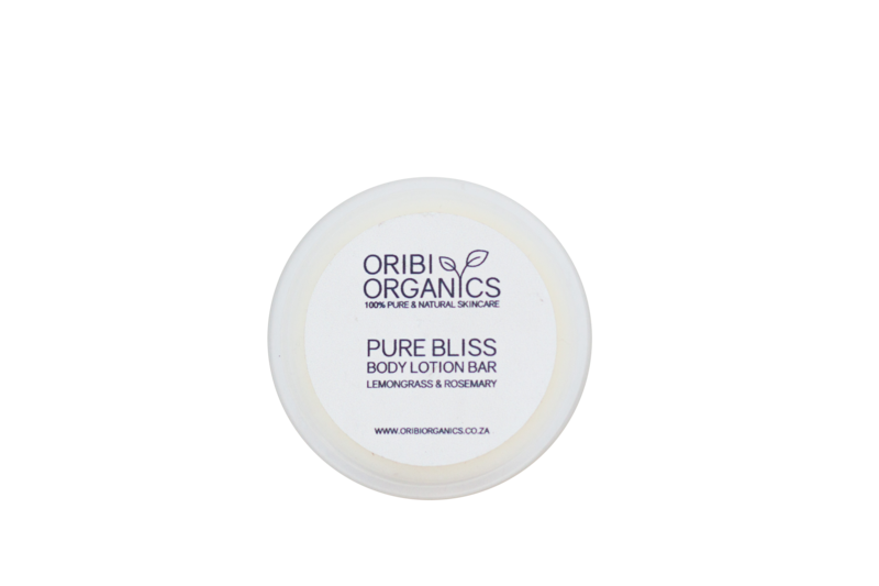 Solid Lotion Bars - Pure Bliss (Lemongrass & Rosemary) -70g