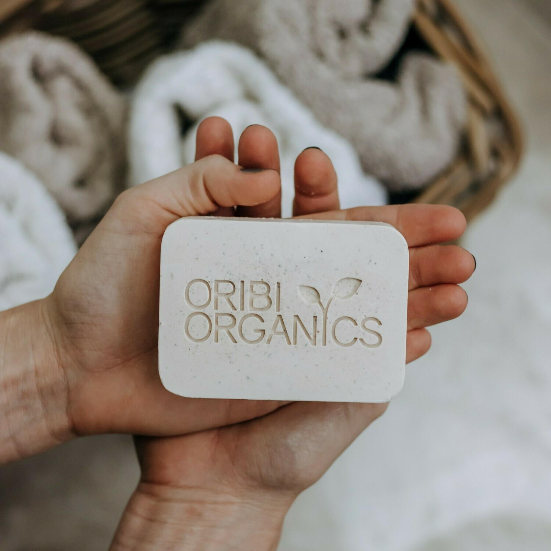 Organic Cleansing Bar - Lemongrass & Rosemary - 150g