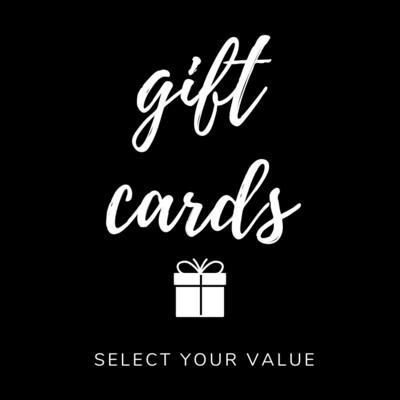 Digital Gift Cards R500 - R1500